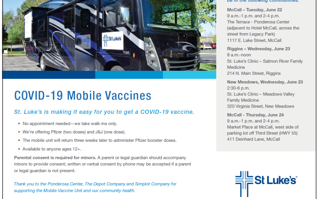 St. Luke's Mobile Vaccine Clinic